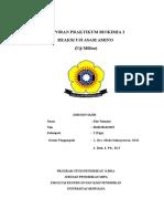 laporan pengendapan logam