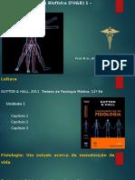 Fisio H. 1 - Introdução Geral I