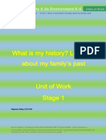 standard 5 artefact - what is my historylearning about my familys past meghannbailey