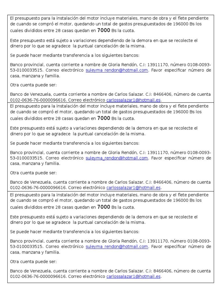 Presupuesto Obra Casa. Catalogo Conceptos Casa Habitacion Por ...