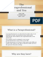 paraprofessional powerpoint