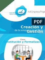 MEP Constitucion y Formalizacion