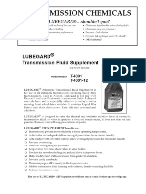 Pioneer Automotive - Transmission TR-2011 2 | Lubricant