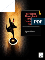 Increasing Throughput through Condensate Pump