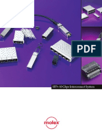 SFP+ 10 Gbps Interconnecto System-Brochure