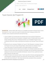 Tujuan Sasaran Dan Program K3 - Konsultan ISO