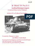№11-1 Panzerbeobachtungswagen (Armored Observation Vehicles)