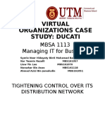Case Study Ducati