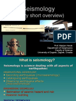 Overview Seismology