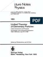 Unified Theories of Elementary Particles