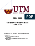 Asigment Business Practice