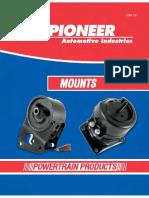 Pioneer Automotive - Mounts ETM-14