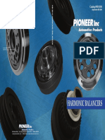 Engine Harmonic Balancer Pioneer 872037