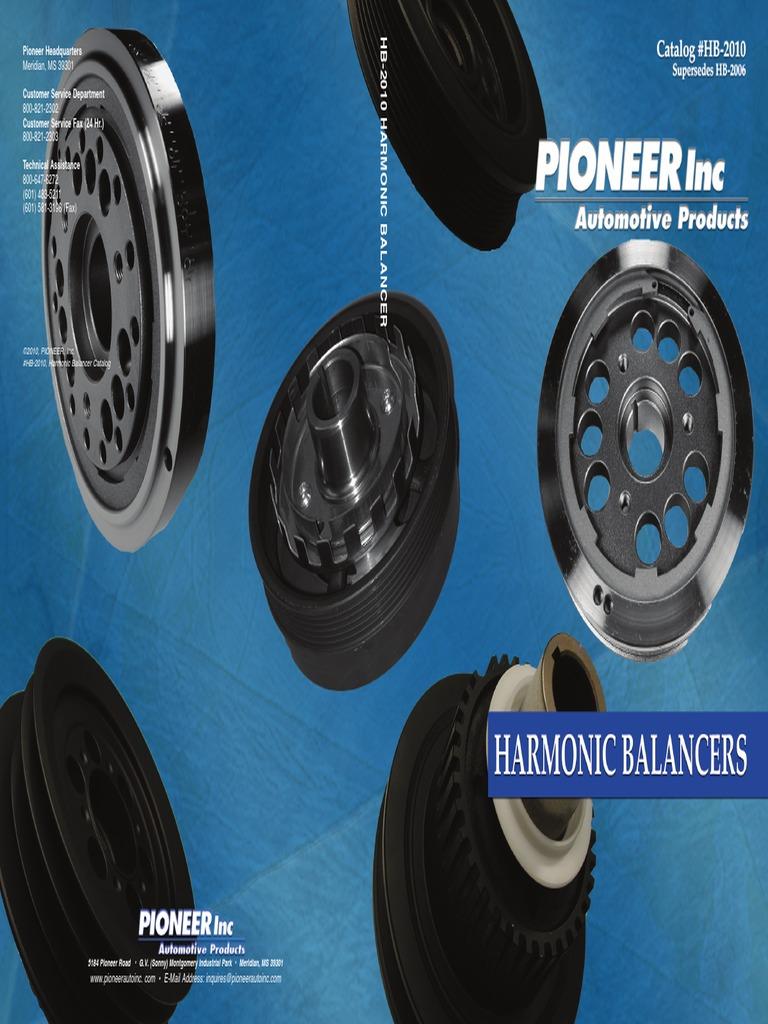 1995 1996 1997 1998 2.5L Cherokee Comanche Dakota Wrangler Harmonic Balancer New