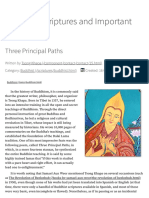 Three Principal Paths