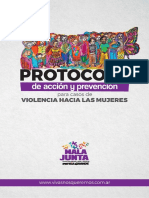 Protocolo de acción y prevención para casos de violencia hacia las mujeres - Mala Junta Patria Grande. 2016.pdf