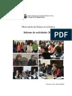 Informe Final Observatorio de Genero 2014