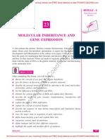 5 Molecular Inheritance and Gene Expression