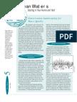 Water conservation including rain barrels