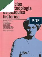 Exercícios de Metodologia da Pesquisa Histórica