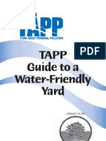 TAPP Guide to a Water-Friendly Yard