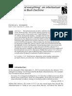 Discourse & Society - Intertexuality - Intertexuality of Bush Doctrine.pdf