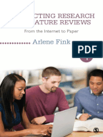 Research _Conducting Research Literature Reviews_ From the Internet to Paper, 4E [Dr.soc]