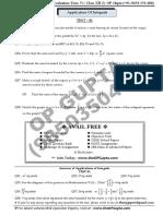 08 Application of Integrals