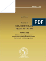 ISMOM 2008. Journal of Soil Science and Plant Nutrition