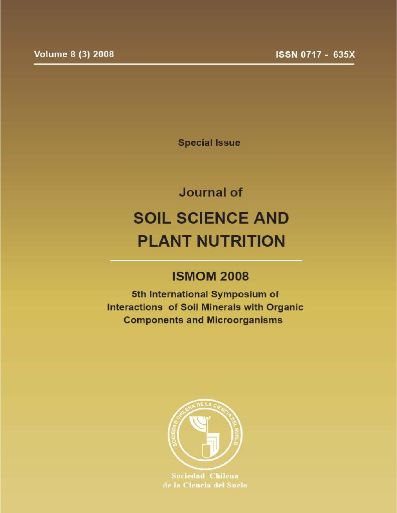 Ismom 2008 Journal Of Soil Science And Plant Nutrition Emg 89 Wiring Http Wwwoverlendcom Wiringhtm Environmental Remediation