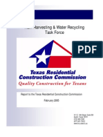 Texas Rain Harvesting and Water Recycling Task Force Report