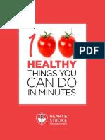 100 Healthy Things