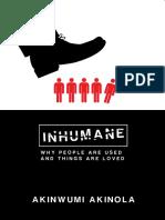 Inhumane by Akinwumi Akinola