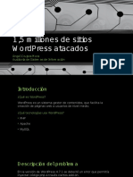 1,5 Millones de Sitios WordPress Atacados