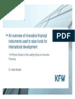 IFD Presentation KfW Final