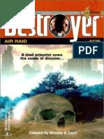 The Destroyer 126 - Air Raid - Warren Murphy & Richard Sapir