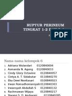 19. Ruptur Perineum Tingkat 1,2,3 Dan 4