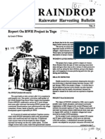 Raindrop Newsletter April 1990 v3 Rainwater Harvesting Bulletin