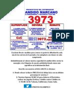 Boceto Analitico de Candido Marcano 23 ABRIL