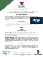 Decreto 1374 de 2015