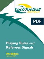 7th edtn rule book