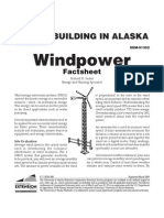 Alaska Wind Power Factsheet