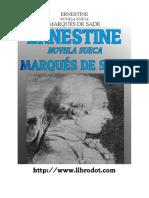 El Marques - Ernestine Novela Sueca