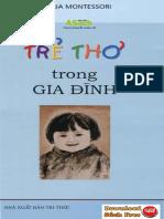 Trẻ Thơ Trong Gia Đình pdf (Maria Montessori) – sách hay nuôi dạy con