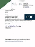Interim Payment Certificate No 1