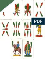 Carte Da Gioco Siciliane (Bastoni)