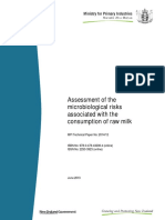 2014 12 Assessment of the Microbiological Risks Associated With the Consumption of Raw Milk