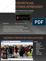 Adrián Mendoza. Motivar Para Aprender - Horno3_Mayo2016