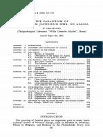 The Parasitism of Exobasidium Japonicum Shir. on Azalea