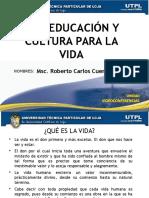 EDUCACION CULTURA PARA LA VIDA.pptx